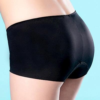 莎薇- 蝶翼 M-LL 無痕平口生理褲(黑)吸濕透氣
