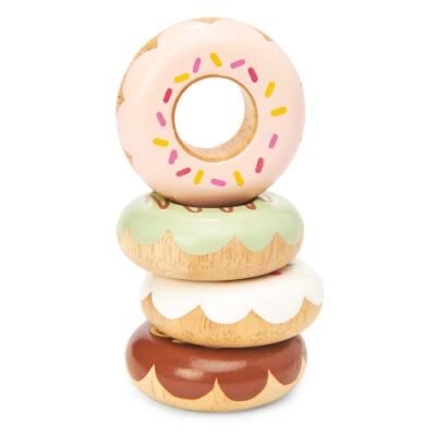英國 Le Toy Van 角色扮演系列 - 甜甜圈木質玩具組 (TV332)