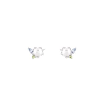 NOONOO FINGER WHITE BELL 耳環