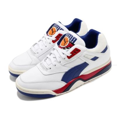 Puma 籃球鞋 Palace Guard OG 男鞋 海外限定 復古 舒適 球鞋 穿搭 簡約 白 藍 36958701