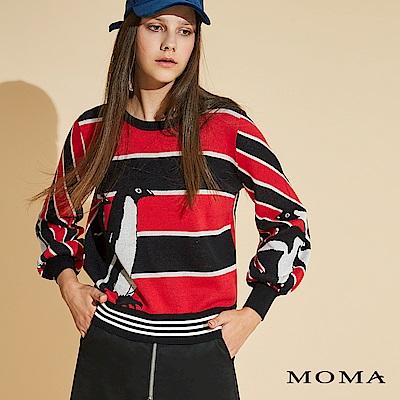 MOMA 企鵝條紋上衣