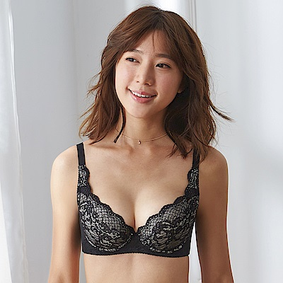 蕾黛絲-經典峰靡內衣 B-E罩杯內衣 曜石黑