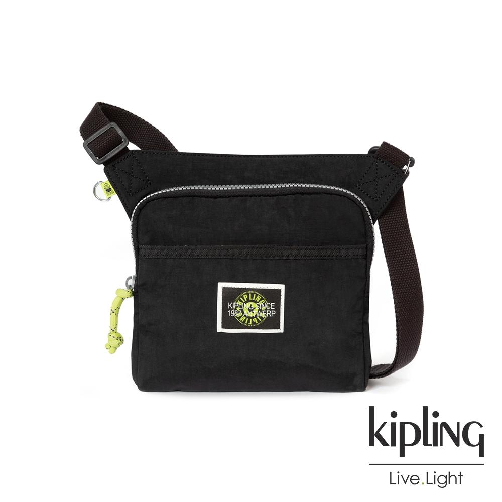 Kipling 率性芝麻抹茶綠輕便有型隨身斜肩包-ALMIRO