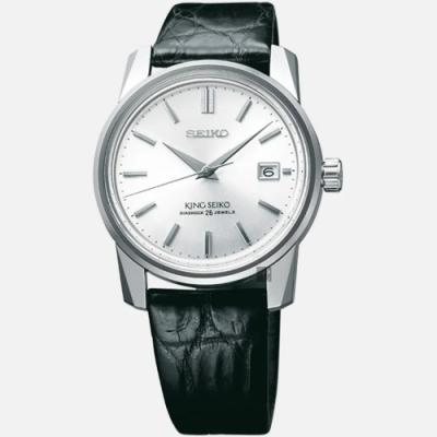 SEIKO 精工 140週年限量 KING SEIKO 機械錶(SJE083J1/6L35-00D0Z)-38.1mm