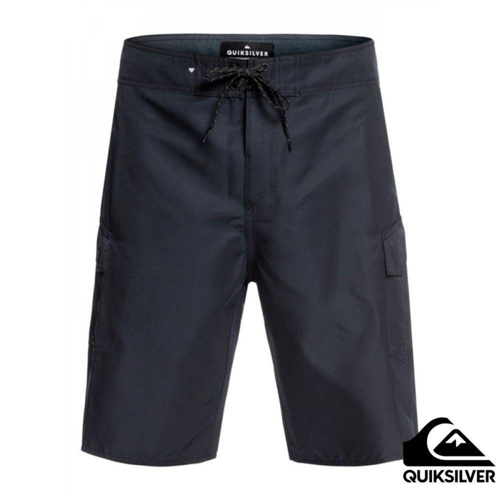 【Quiksilver】MANIC SOLID 21 衝浪褲 黑
