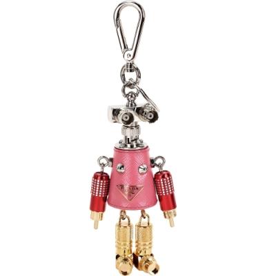 Prada Giulietta 機器人吊飾/鑰匙圈(粉)