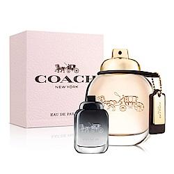 COACH 時尚經典女性淡香精50ml(贈品)品牌小香4.5ml
