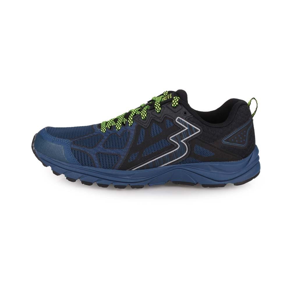 361度 男慢跑鞋-4E 361°-訓練 路跑 寬楦 丈青黑