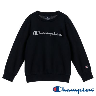 Champion EU童草寫Logo大學Tee 黑色