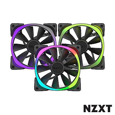 NZXT恩傑Aer RGB Series 12公分風扇三顆裝RGB系統風扇