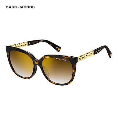 Marc Jacobs- MARC 317/S 都會時尚鎖鏈太陽眼鏡 玳瑁色