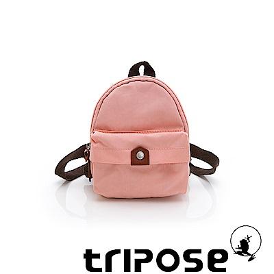 tripose MEMENTO系列尼龍輕量防潑水寵物背包-淺粉