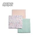 【Mamas & Papas】Muslin紗布巾3入-莉莉貝兒