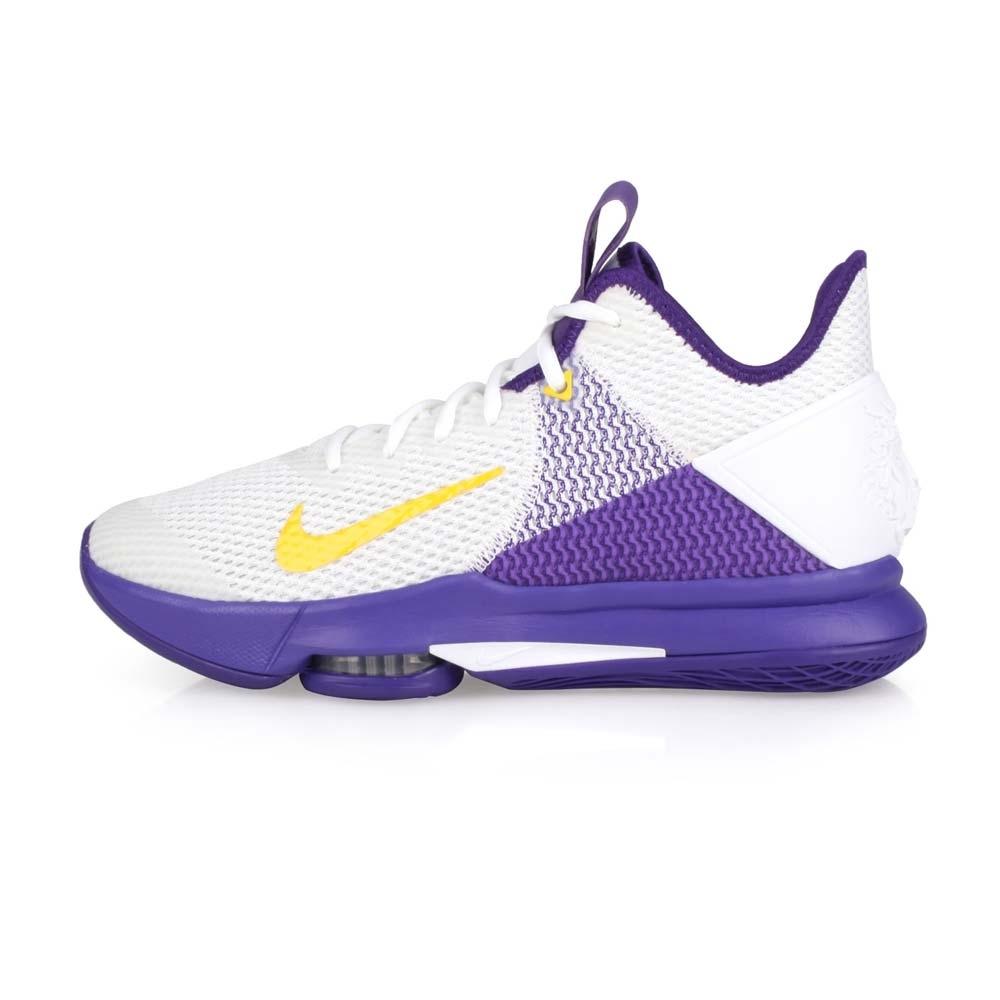 NIKE 男 限量-籃球鞋 LEBRON WITNESS IV EP 白紫黃