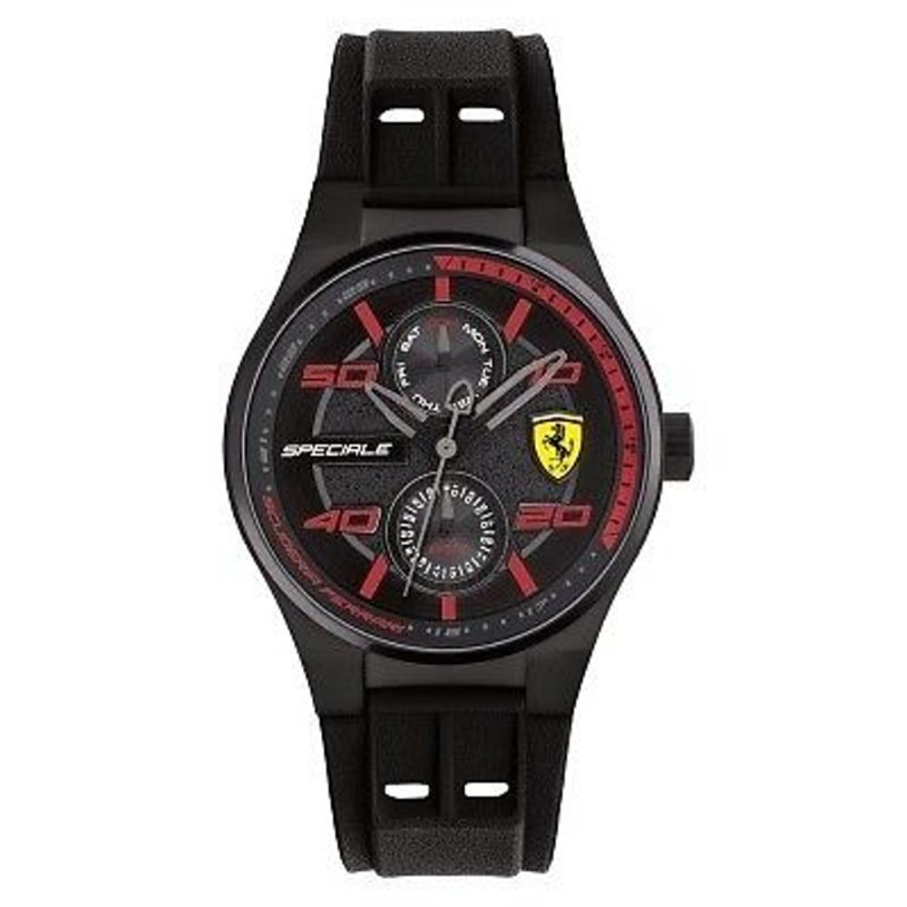 FERRARI 法拉利/紅鑽狂熱飆速運動計時腕錶/FA0840011
