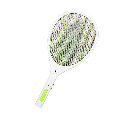 KINYO 雙重充電式三層防觸電捕蚊拍電蚊拍(CM-2237)蚊蠅跑不掉