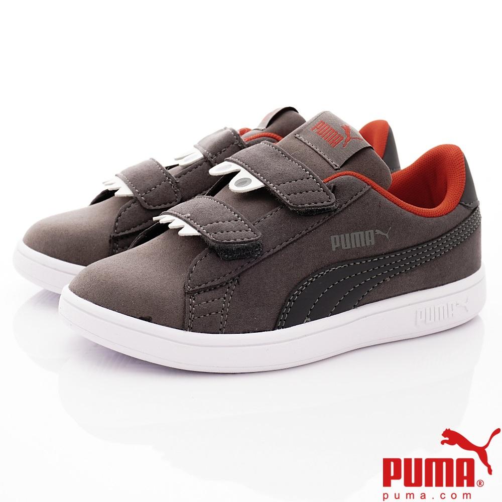PUMA童鞋 MONSTER休閒款 TH69680-02灰(中小童段)
