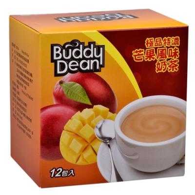 Buddy Dean 巴迪芒果風味奶茶-極品特濃(25gx12包入)