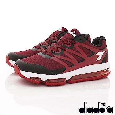 DIADORA-Q彈穩定氣墊跑鞋款 SI632紅(男段)