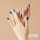 KISS New York-Press&Go頂級光療指甲貼片-碧璽大理紋(KPNS22K)