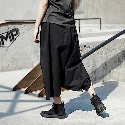 設計所在Style-韓版大掉襠寬鬆哈倫褲裙