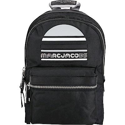 MARC JACOBS Trek Pack Sport 輕質高性能尼龍後背包(中/黑)