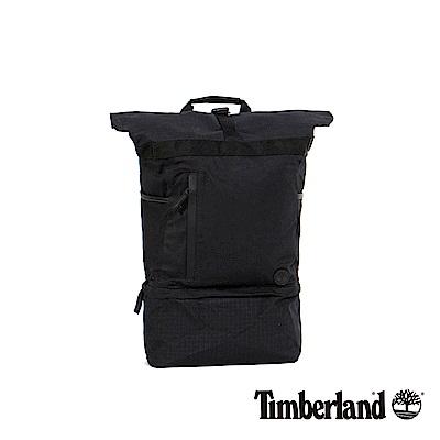 Timberland 黑色RollTop上捲式後背包 | A1CNF001