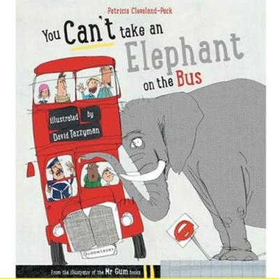 You Can t Take An Elephant On The Bus 動物出遊記平裝繪本