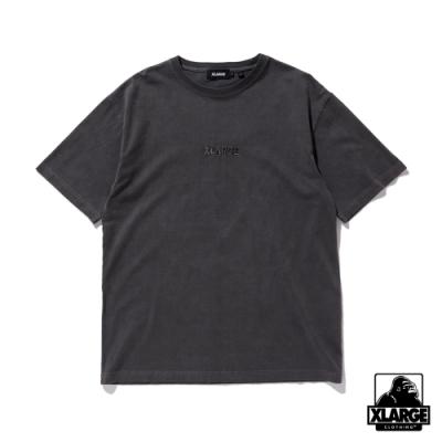 XLARGE S/S PIGMENT TEE STANDARD LOGO短袖T恤-炭灰