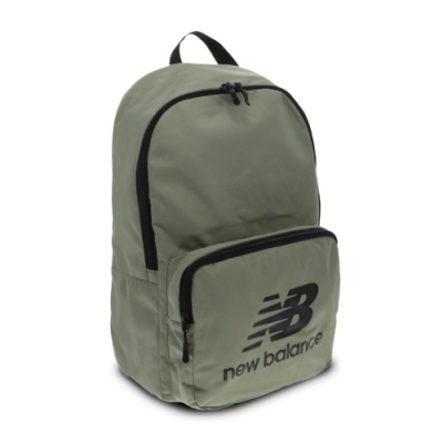 New Balance 後背包 Team Classic Backpack 紐巴倫 基本款 雙肩背 上學 外出 綠 黑 BG03208GCB4