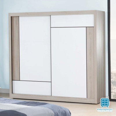 Hampton柯蒂斯系列5x7尺衣櫥-150x60x199cm