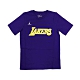 NIKE NBA Statement Edition 青少年 短袖T恤 湖人隊 product thumbnail 1