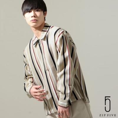 ZIP日本男裝 ZIP FIVE半拉鍊長袖襯衫(17色)