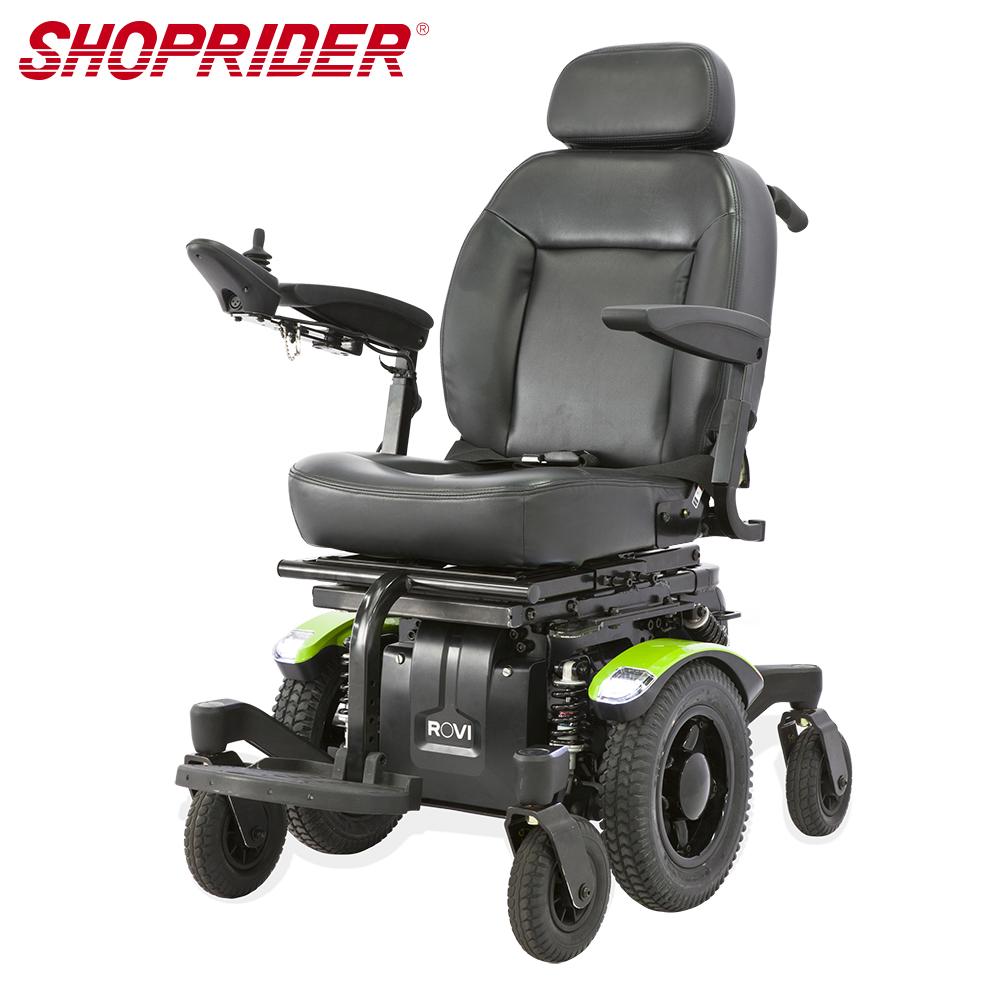 SHOPRIDER ROVI 必翔羅賓漢電動輪椅(室外越障型)