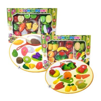 凡太奇 綜合蔬菜水果DIY切切樂套裝 1274AB - 速