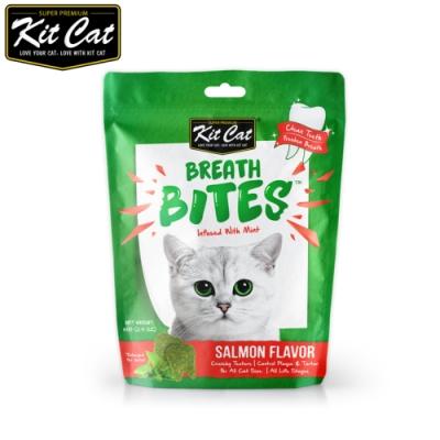 Kit Cat 薄荷潔牙餅(鮭魚口味)60g