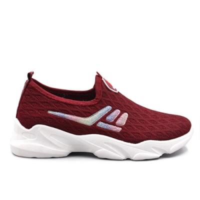 韓國KW美鞋館-自在漫遊城市運動鞋-紅色