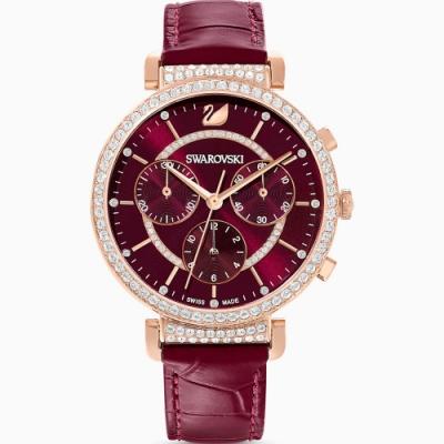 SWAROVSKI 施華洛世奇 PASSAGE CHRONO 計時腕錶 5580345