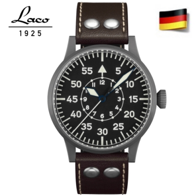 Laco朗坤 861749 ETA2824.2機蕊飛行員錶原型 復古飛行員錶