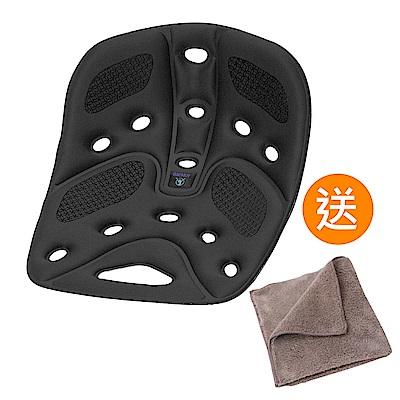 BackJoy 美姿墊Traction/升級版(黑色)《送 攜帶型小方巾》
