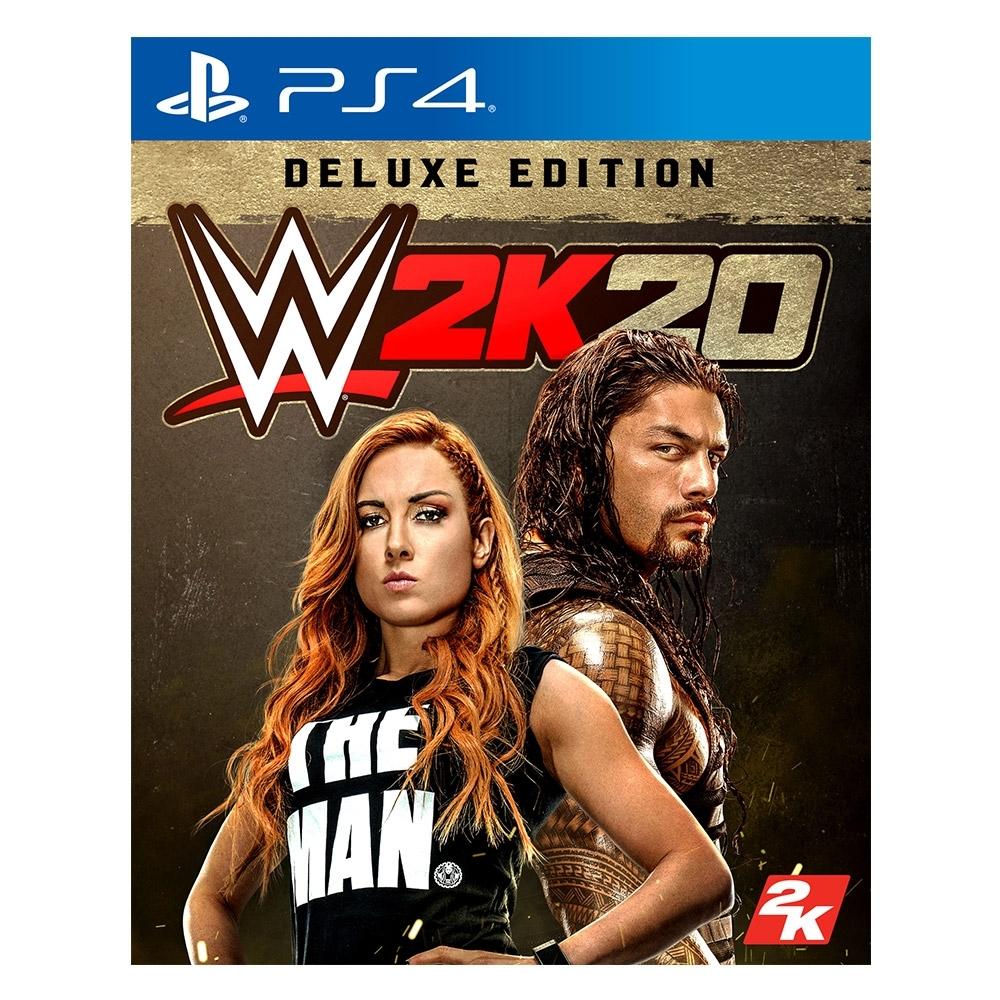 PS4 WWE 2K20豪華版(英文版)