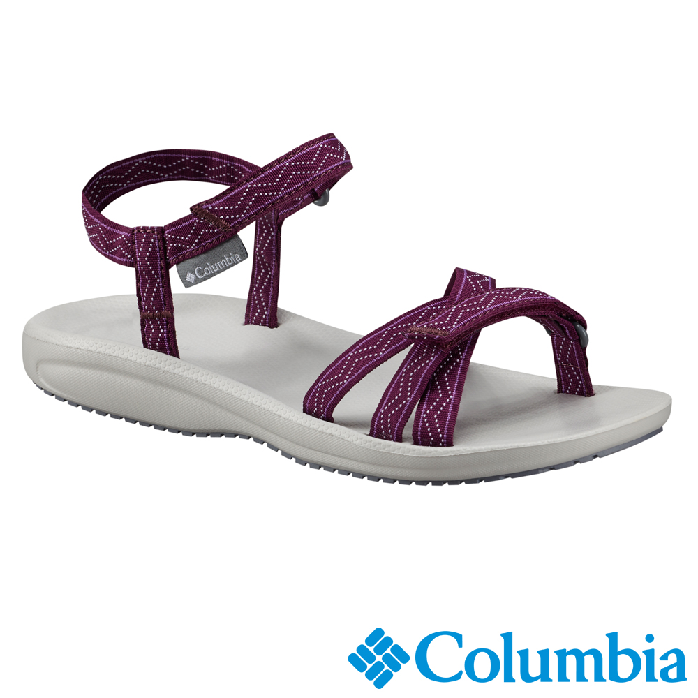 Columbia 哥倫比亞 女款-涼鞋 WAVE TRAIN-紫紅