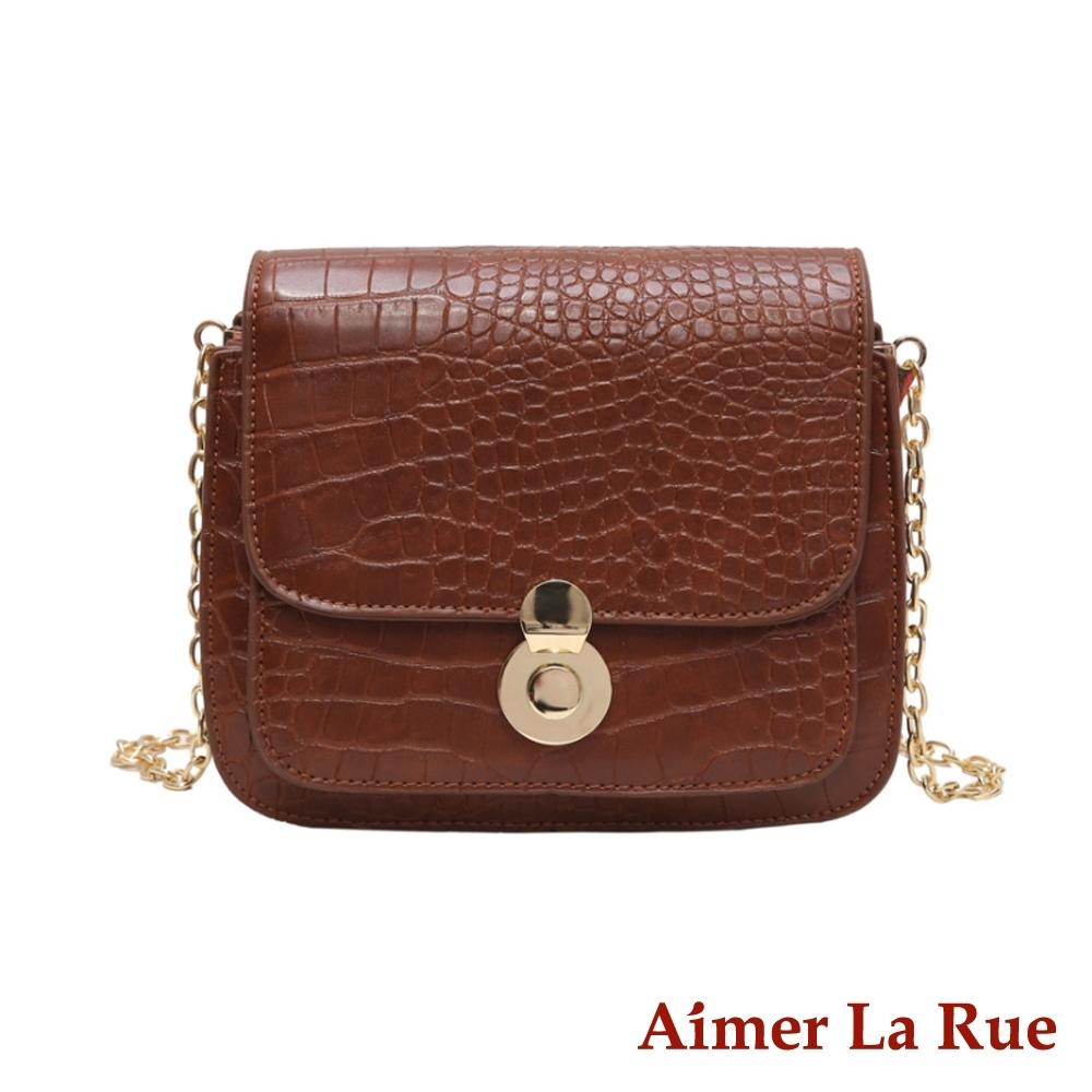 [限時搶] Aimer La Rue 鱷魚紋系列側背包(共八款)