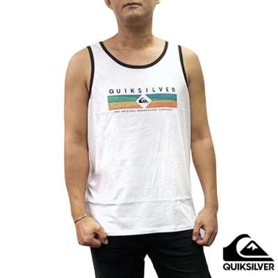 【QUIKSILVER】DISTANT FORTUNE TANK 背心 白色