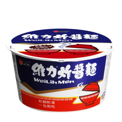 維力 炸醬碗麵 (3入)