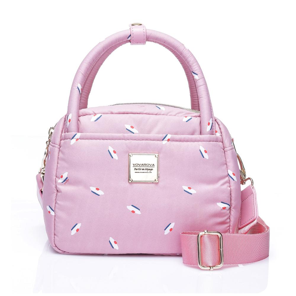 VOVAROVA空氣包-氣質兩用包-French Pom Pom(Pink)