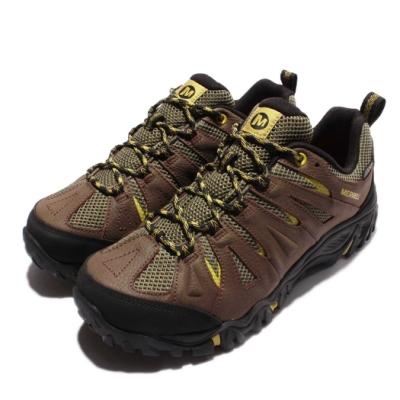 Merrell 戶外鞋 Mojave Waterproof 男鞋 低筒 越野 登山鞋 皮革 防潑水 男 棕 黑 ML35967