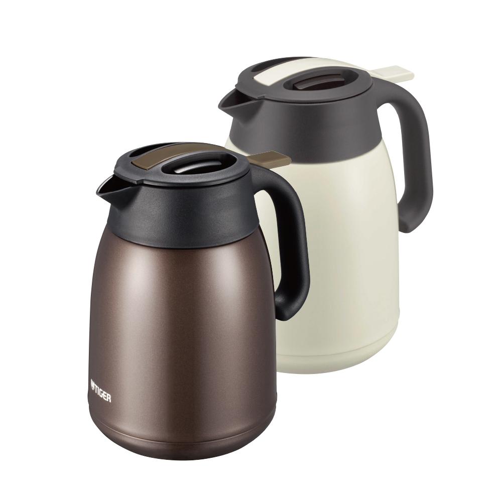 虎牌 提倒式不鏽鋼保冷保溫熱水瓶1.2L(快)