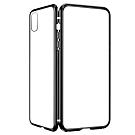 iPhone X/XS 360度全包 雙面磁吸鋼化玻璃 手機保護殼