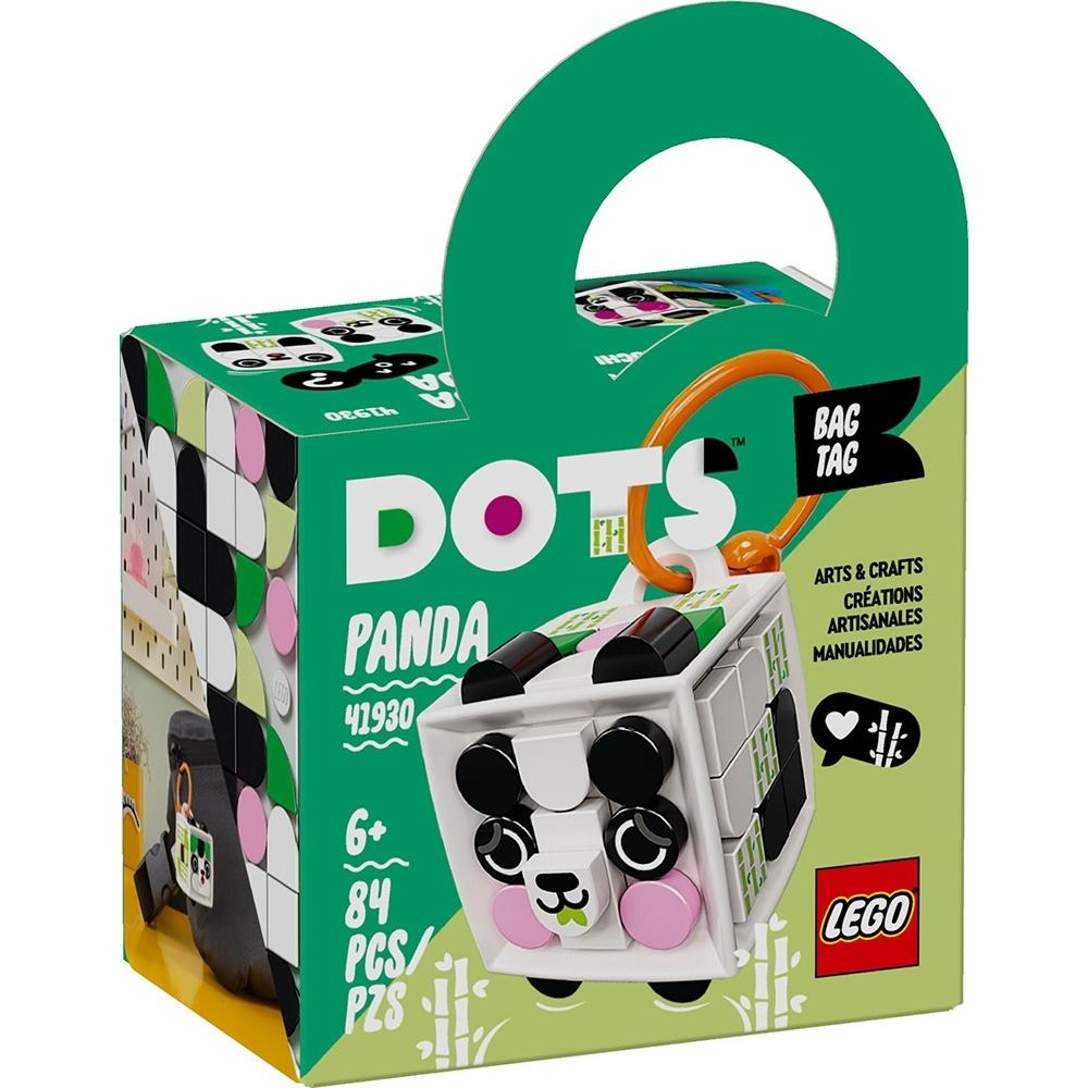 樂高LEGO DOTS系列 - LT41930 行李吊牌 熊貓